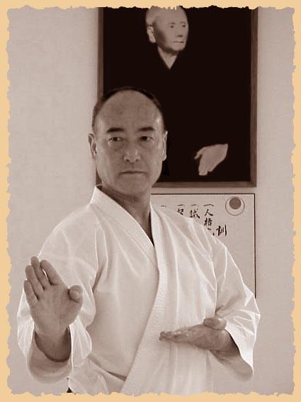 Кэйго Абэ (Главный инструктор JSKA, 8 Дан)
