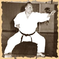 Shihan Taiji Kase Founder of the World Karate-Do Shotokan Academy