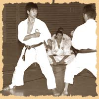 Hitoshi Kasuya (chief instructor of the World Shotokan Karate-do Federation)