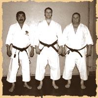 Садасигэ Като, Александр Терехин и Бруно Колер на сборе в Люцерне