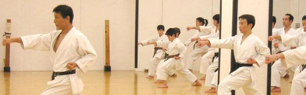 Микио Яхара: тренировка в хомбу додзё