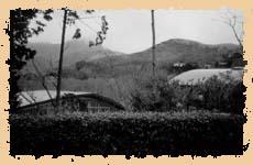 """Вид из окна традиционной японской бани """"фуру"""""""