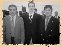 Хироказу Канадзава, Александр Чичварин, Манабу Мураками