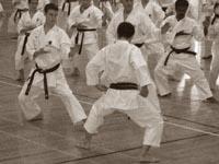 Тренировку ведет Норио Кавасаки