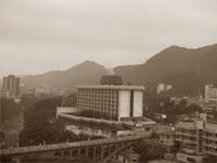 Вид из окна отеля Кинугава-гёен
