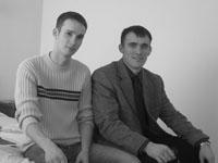 Александр Чичварин и Евгений Уколов
