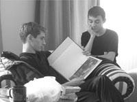 Олег Ларионов и Виталий Башкин