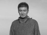 Норио Кавасаки у Запорожской ГЭС