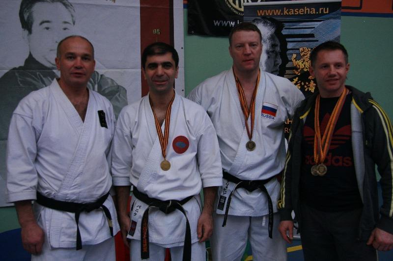 Успех команды Зеленограда на чемпионате ЦФО по каратэ