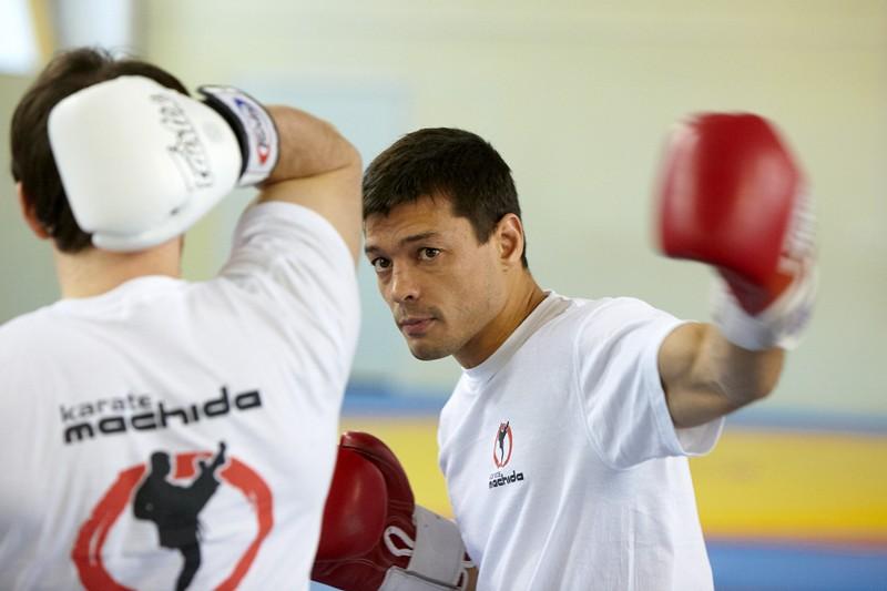 В Зеленограде прошел мастер-класс по каратэ и ММА Синдзо Мачиды