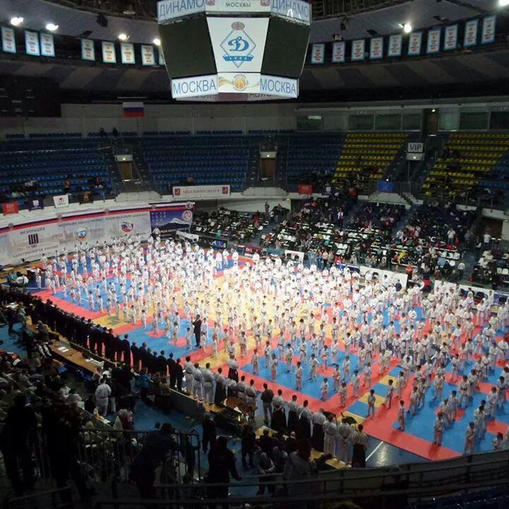 Команда Зеленограда одержала победу на Всероссийских соревнованиях по каратэ