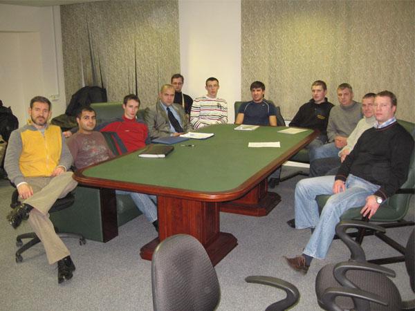 Заседание президиума ФКР