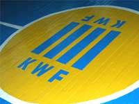Жовто-блакитное лого KWF