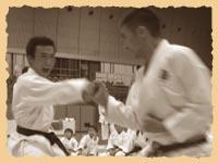 Jiyu ippon kumite: Motoyoshi Takahashi & Norio Kawasaki
