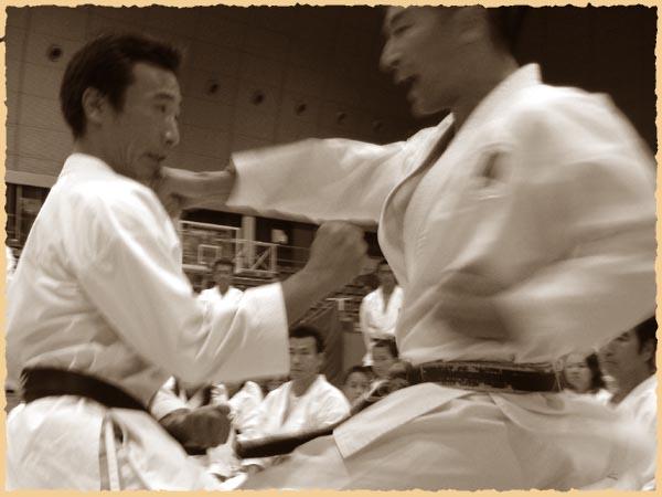 Дзию иппон кумитэ: Мотойоши Такахаши и Норио Кавасаки