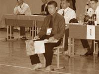 Главный судья соревнований Норио Кавасаки