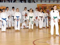 Юные участницы