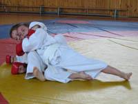 Дзию кумитэ: удушение со стороны спины
