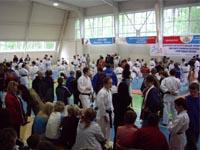 Сбор участников и судей перед началом соревнований