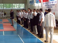 Открытие соревнований: оргкомитет и судьи