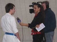 Интервью телеканалу РТР-Спорт