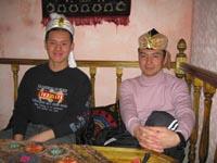 Ужин в узбекском ресторане
